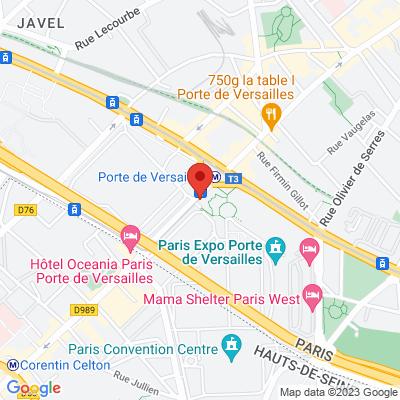 En marche paris xv porte de versailles vaugirard en for Porte de versailles salon metro
