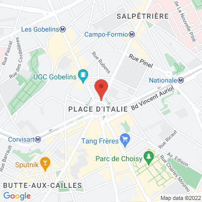 Place d italie, 75013 Paris 13e