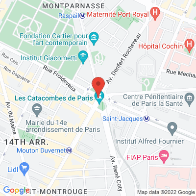 place denfert rochereau, 75014 Paris 14e