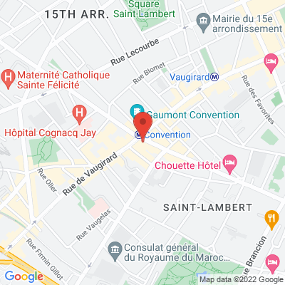 200 rue de la convention, 75015 Paris 15e