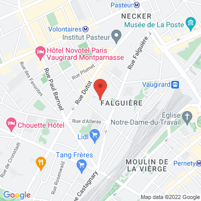 Place Kandisky, 75015 Paris 15e