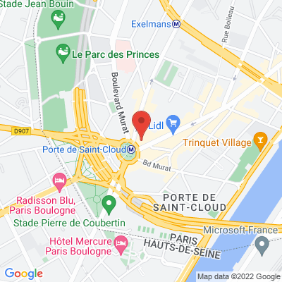 Porte de saint Cloud 234 avenue de Versailles, 75016 Paris 16e