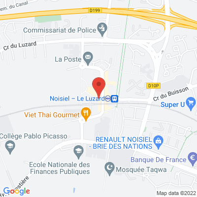 Place Gaston Defferre, 77186 Noisiel
