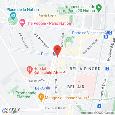 50 avenue de Saint Mandé, 75012 Paris 12e