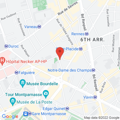 6 rue Littré, 75006 Paris 6e
