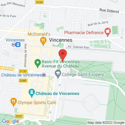 Cours marigny, 94300 Vincennes