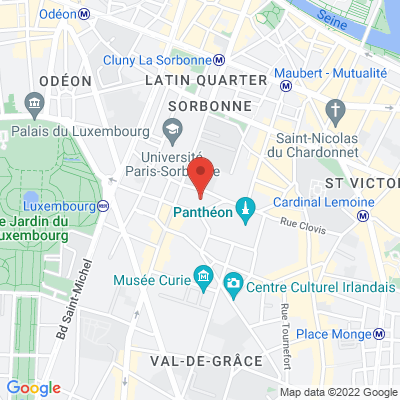 place du Panthéon (Angle Université Paris1-rue Soufflot), 75005 Paris 5e