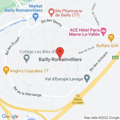 51 rue de Paris, 77700 Bailly-Romainvilliers