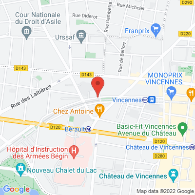 88 bis avenue Aubert, 94300 Vincennes