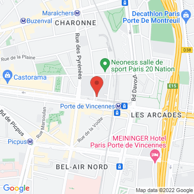 """La Brasserie de l'Europe"" 87 cours de Vincennes, 75020 Paris 20e"
