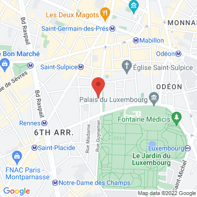 172 boulevard Saint Germain des Prés, 75006 Paris 6e