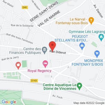place diderot, 94300 Vincennes