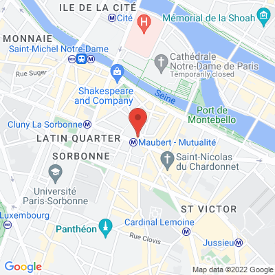 Café du Métro  - 18 place Maubert, 75005 Paris 5e