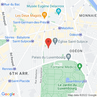 Place Saint Sulpice, 75006 Paris 6e