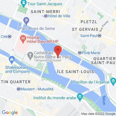12 Rue Jean-du-Bellay - Ile Saint Louis, 75004 Paris 4e