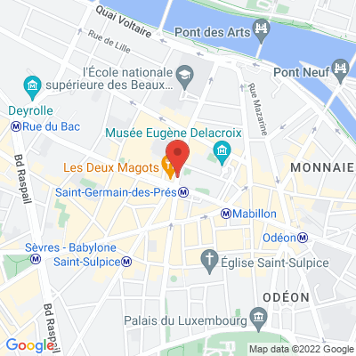 Place Saint Germain des Prés, 75006 Paris 6e
