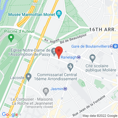 84 rue de l'assomption, 75016 Paris 16e