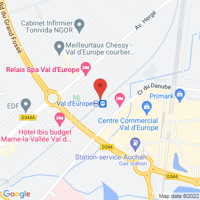 place d'ariane, 77700 Chessy