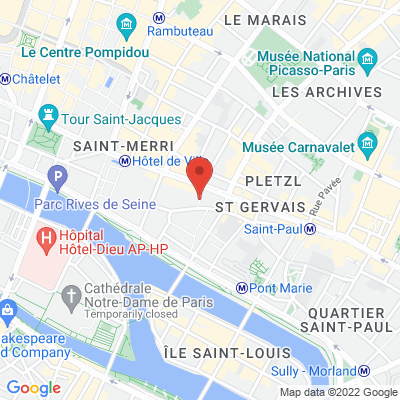 Place Baudoyer, 75004 Paris 4e