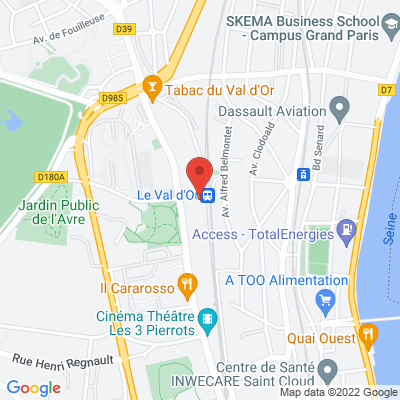 1 Rue du Pierrier, 92210 Saint-Cloud