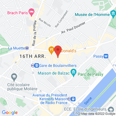 34 rue de L'Annonciation, 75016 Paris 16e