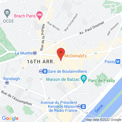 Place de Passy - 22 Rue Duban, 75016 Paris 16e