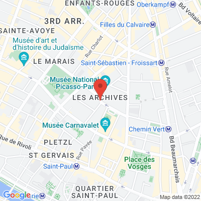 Place de Thorigny, 75003 Paris 3e
