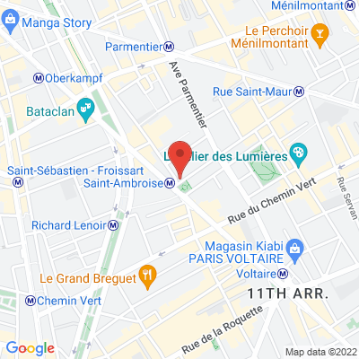 2 rue de La Folie Mericourt, 75011 Paris 11e