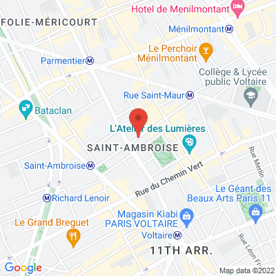 25 rue Saint Ambroise, 75011 Paris 11e