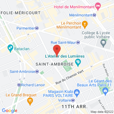 25 rue Saint-Ambroise, 75011 Paris 11e