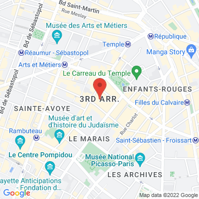 place de la République /rue du Temple, 75003 Paris 3e