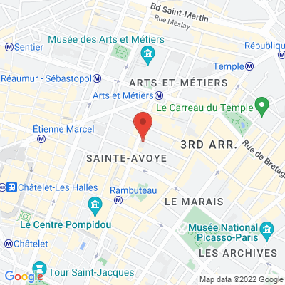 25 rue Chapon, 75003 Paris 3e