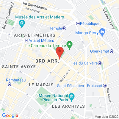 87 rue des archives, 75003 Paris 3e