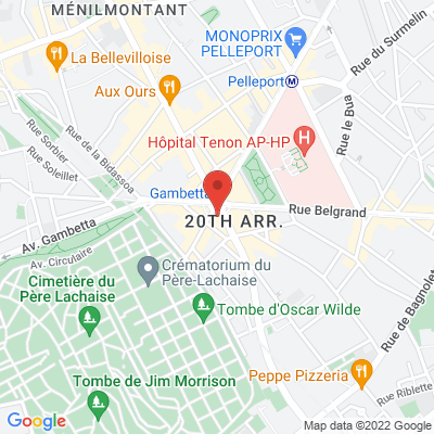 Place Gambetta, 75020 Paris 20e