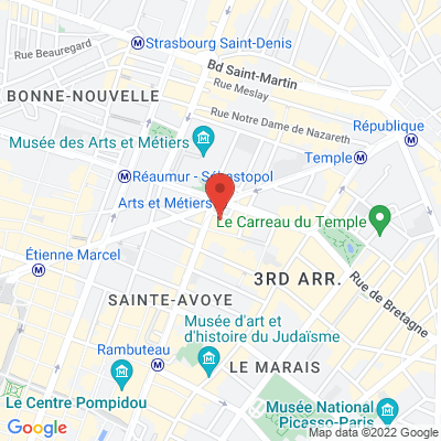 9 Rue Bailly, 75003 Paris 3e