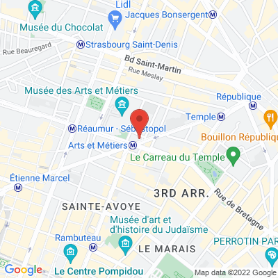 57 rue de Turbigo, 75003 Paris 3e