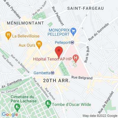 93 Avenue Gambetta, 75020 Paris 20e