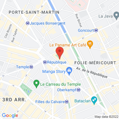 10 Place de la République 75011 Paris, 75011 Paris, France