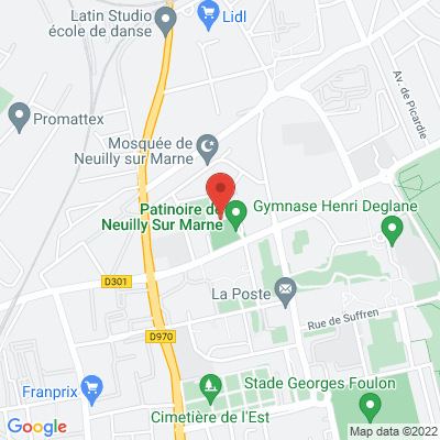 patinoire de Neuilly Sur Marne, 93330 Neuilly-sur-Marne