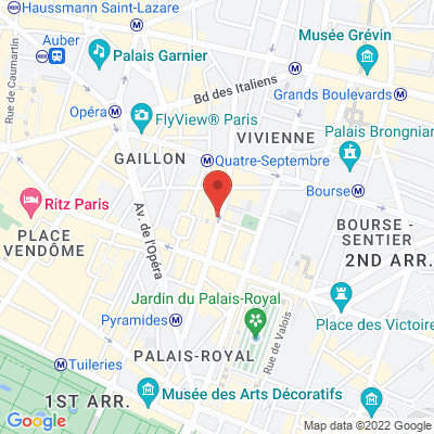 63 rue Saint Anne, 75002 Paris 2e