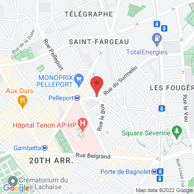 15 rue du Surmelin, 75020 Paris 20e
