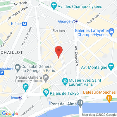 53 rue de Chaillot, 75116 Paris 16