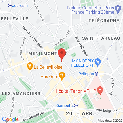 49 rue de la Chine, 75020 Paris 20e