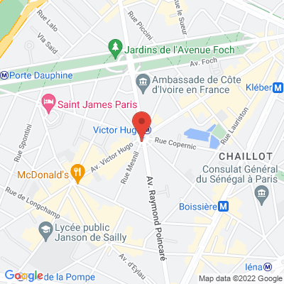 place victor Hugo, 75116 Paris 16
