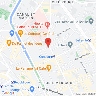 20 rue Jacques Louvel-Tessier, 75010 Paris 10e