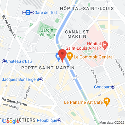 2 - 6 rue Jean Poulmarch, 75010 Paris 10e