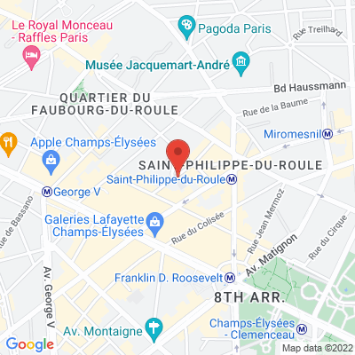 10 rue Paul Baudry, 75008 Paris 8e