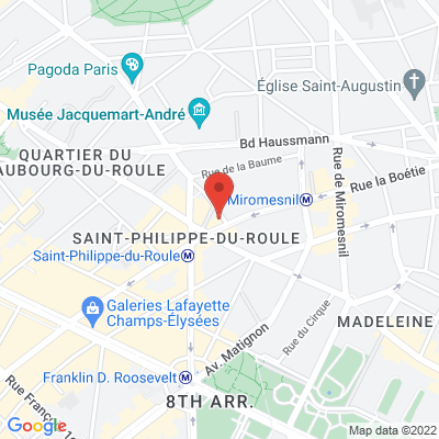 4 rue Pierre Legrand (code 13A69 interphone Hausmann 5me Etage), 75008 Paris 8e