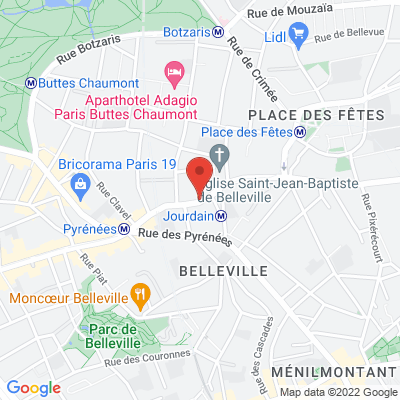 jourdain, 75019 Paris 19e