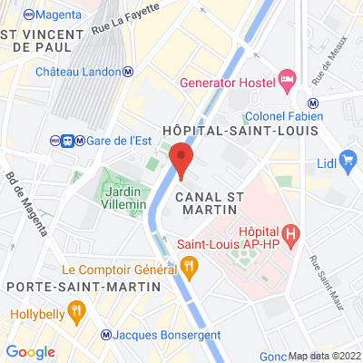 18 rue de l'Hôpital Saint-Louis, 75010 Paris 10e